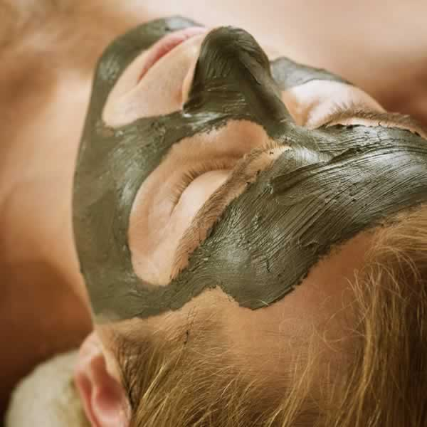 Women recieving Spa Facial