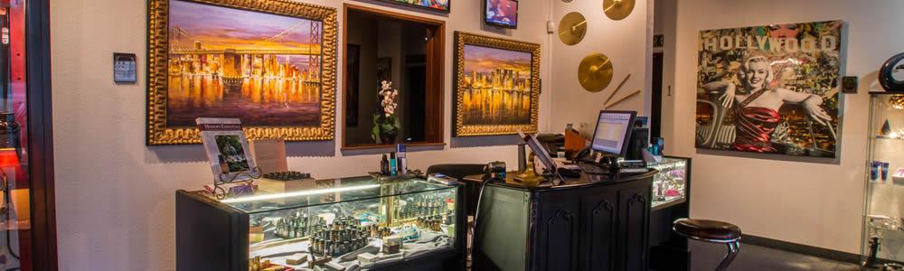 A Touch of Las Vegas Day Spa & Salon Front Inside Entrance